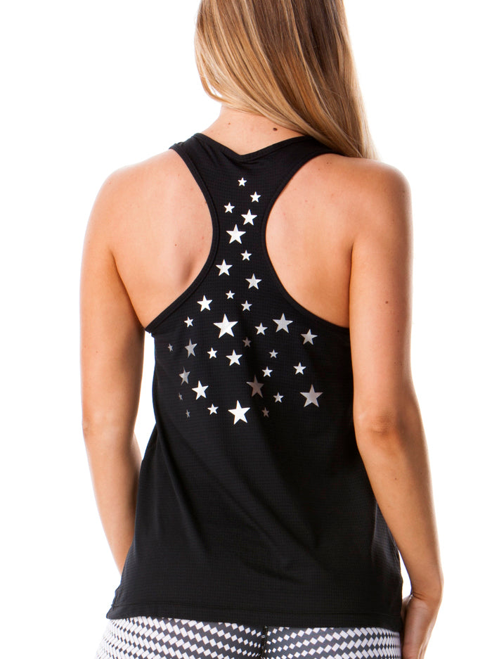 Starry Night Recycled Tank - Activewear Brazil