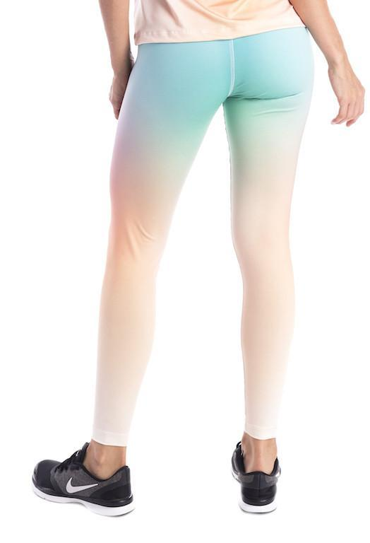 Ombre Sunset F/L Tights - High Rise - Activewear Brazil