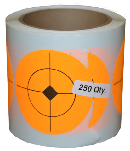 "2.5"" STICKER ROLL SHOOTING TARGETS"