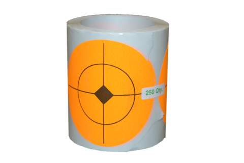 "3.5"" STICKER ROLL SHOOTING TARGETS"