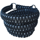 Paracord Sling Black outside grey inside