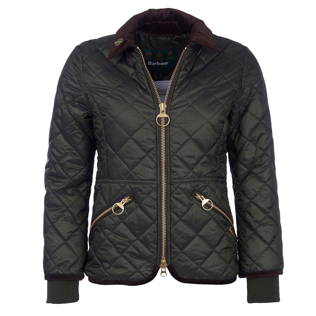 Barbour Icons Quilted Jacket Size 6