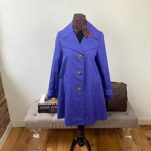 Kate Spade Madison Ave. Collection Marcheline Coat Size 0