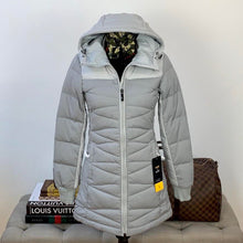 Lolë x Allied Feathered & Down Faith Jacket in Light Heather Grey Size XS
