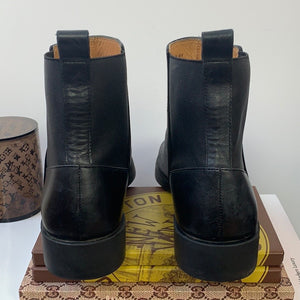 & Other Stories Black Chelsea Booties Size US 8
