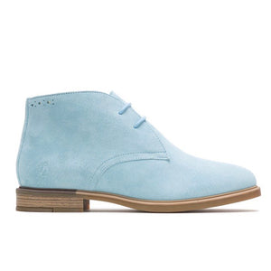 Hush Puppies Bailey Chukka Boots Soft Sky Suede Size 6