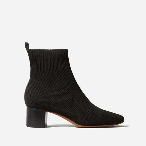 Everlane The Glove Boot in ReKnit in Black Size 8