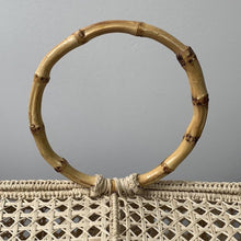 Soraya Hennessy CAMILA Handmade Iraka Palm Basket Bag - At One Boutique, LLC