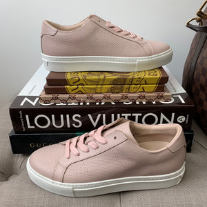 Greats The Royale Perforated Sneakers in Blush Size 36