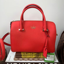 Kate Spade Large Lane in Prickly Pear Red & Gold