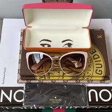 Kate Spade New York Genice Sunglasses Pink & Brown - At One Boutique, LLC
