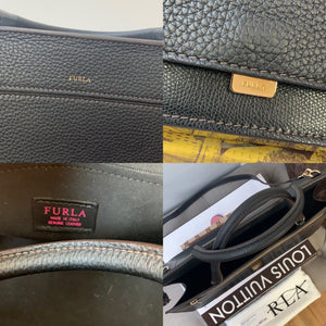 Furla 903484 B BLC6 AVH Like Onyx Leather Bag