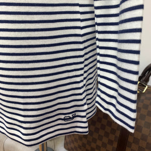 Vineyard Vines NWT Striped Simple Boatneck Long-Sleeve Tee Size Small