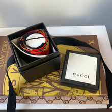 Gucci Silk Neck Bow with Flora Print Scarf