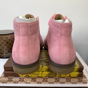 Hush Puppies Bailey Chukka Boots Peony Pink Suede Size 6