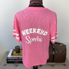 "Edie Parker X J.Crew ""Weekend Special"" Fruit Cocktail T-Shirt in Vintage Cotton Size Small"