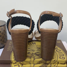 White House Black Market Colorblock Woven Sandals Size 6 - At One Boutique, LLC