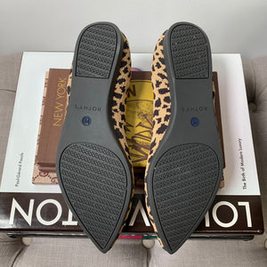 Rothy's The Point in Leopard Size 7.5