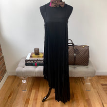 Milly Irene Asymmetrical Pleated Silk Maxi Dress Size 0 NWT