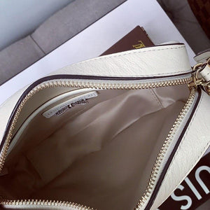 Henri Bendel Crosby Mini Zip Crossbody Bag In Sea Salt - At One Boutique, LLC