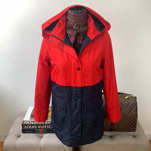 Barbour Altair Waterproof Hooded Jacket Size US 4