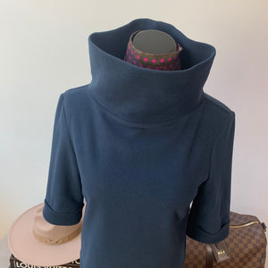 Dudley Stephens Orchard St Boatneck in Navy Size Small