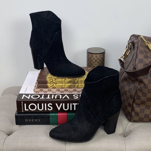 Vince Camuto Creestal Western Booties Size 7.5 - At One Boutique, LLC