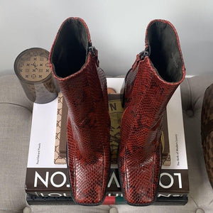 Topshop HURRICANE Ankle Boots Size 37 = 6.5 - At One Boutique, LLC