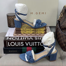 M. Gemi The Risata in Denim Size 36 - At One Boutique, LLC