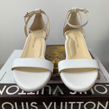 Sarah Flint Perfect Block Sandal 30 White Calf Size 8