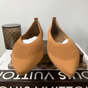 Everlane The 40-Hour Flat in ReKnit Toffee Size 8 - At One Boutique, LLC