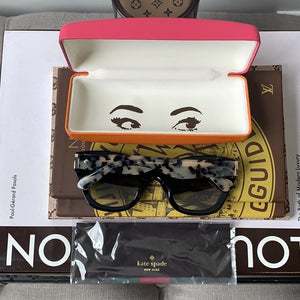 Kate Spade New York Jalena Sunglasses in Black Havana - At One Boutique, LLC