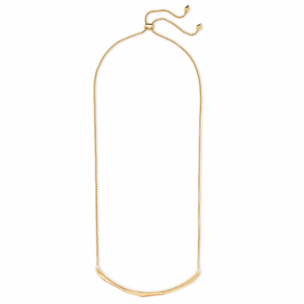 Kendra Scott Graham Choker Necklace Rose Gold