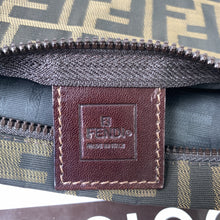 Fendi P/Tutto Zucca Sup Large Logo Flat Zip Pouch Bag - At One Boutique, LLC