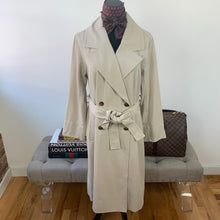 Everlane The Drape Trench Sandstone Size Small NWT