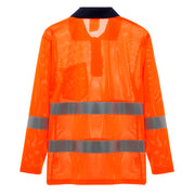 Cooley Hi-Vis Mesh Long Sleeve Shirt - Orange