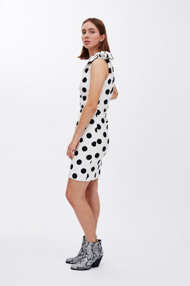 SASHA - Polka Dot Black and White