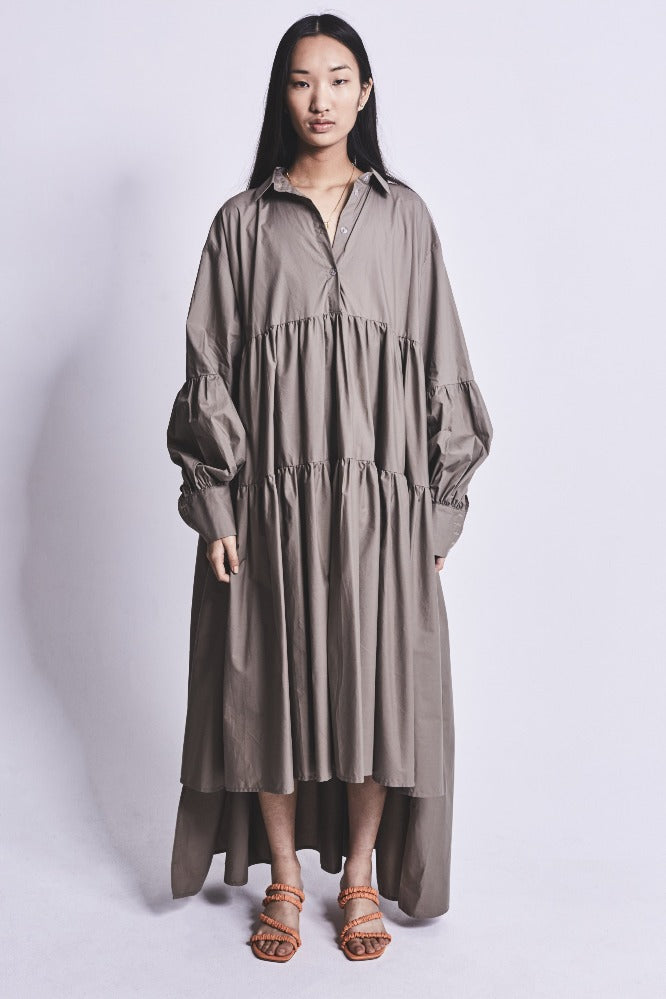LEEROY (DRESS) KHAKI COTTON (PRE-ORDER)