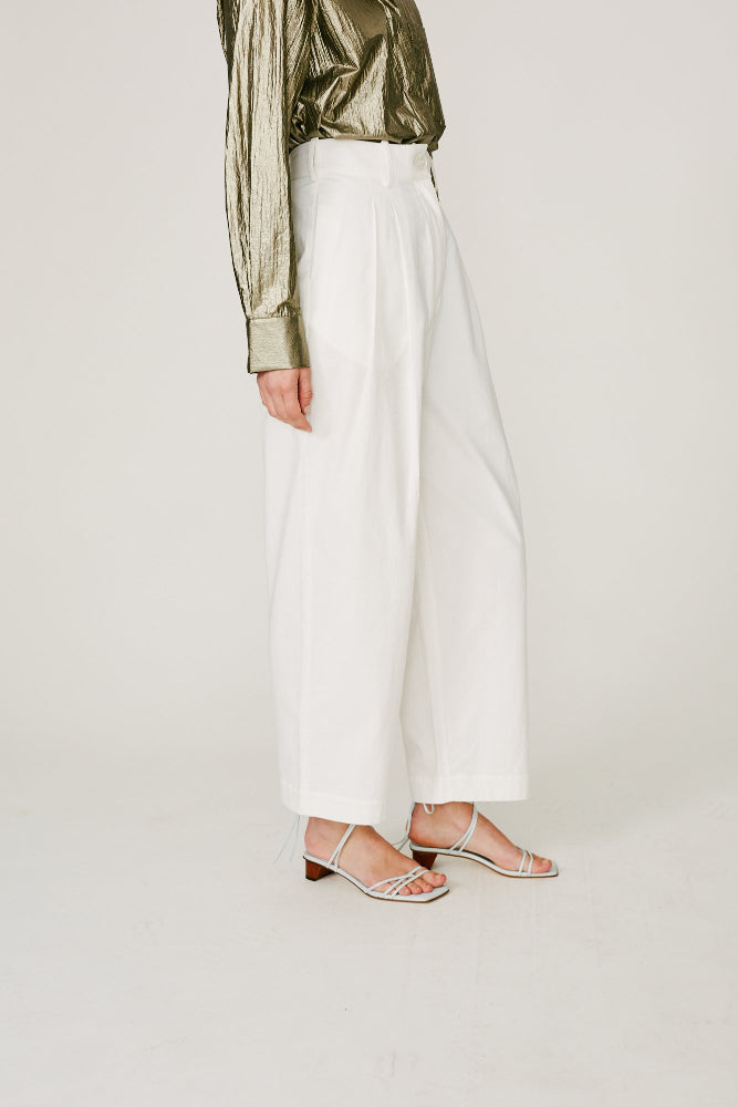 FLEMMING - TAILORED PANT (WHITE)