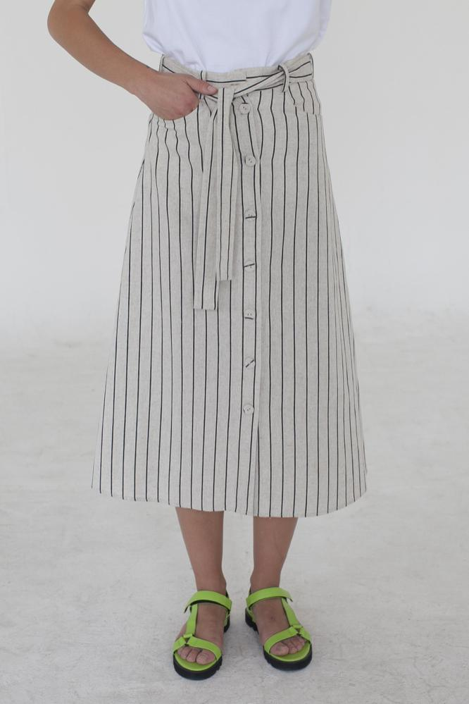 KEMI - STRIPE SKIRT