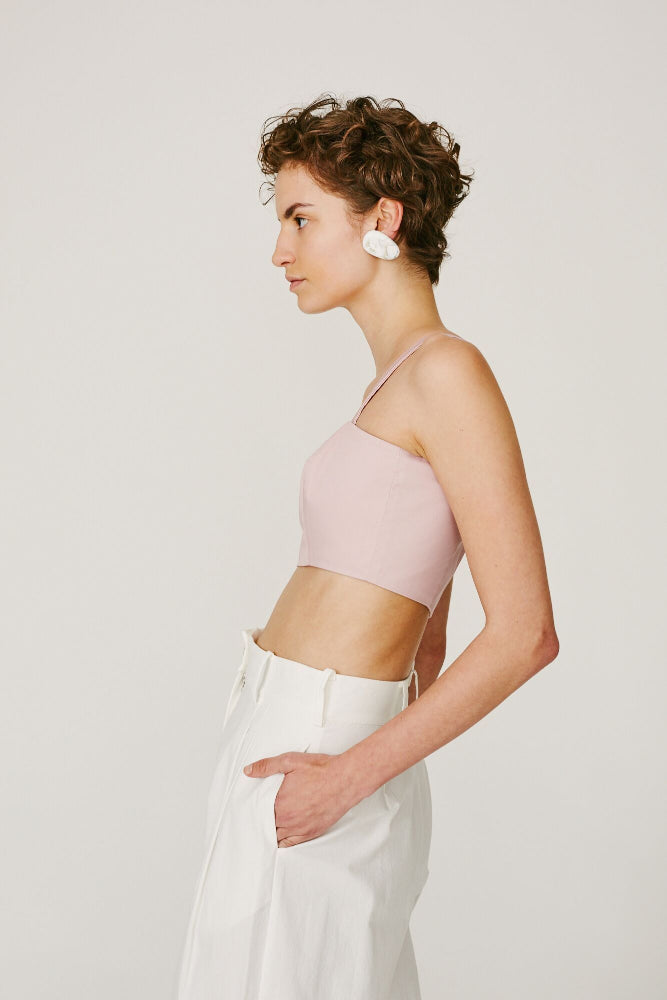 ELVIS -CROP TOP (SOFT PINK)