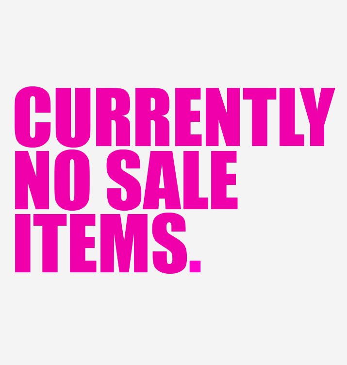 No Sale Items