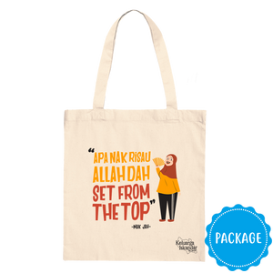 Allah Dah Set From The Top Canvas Tote Bag + Online Streaming & Download Package