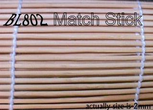 MATCHSTICK NATURAL BAMBOO BLINDS - BL800 Series
