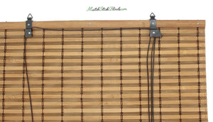 Imperial Brown Bamboo Matchstick Blinds - BL700 Series