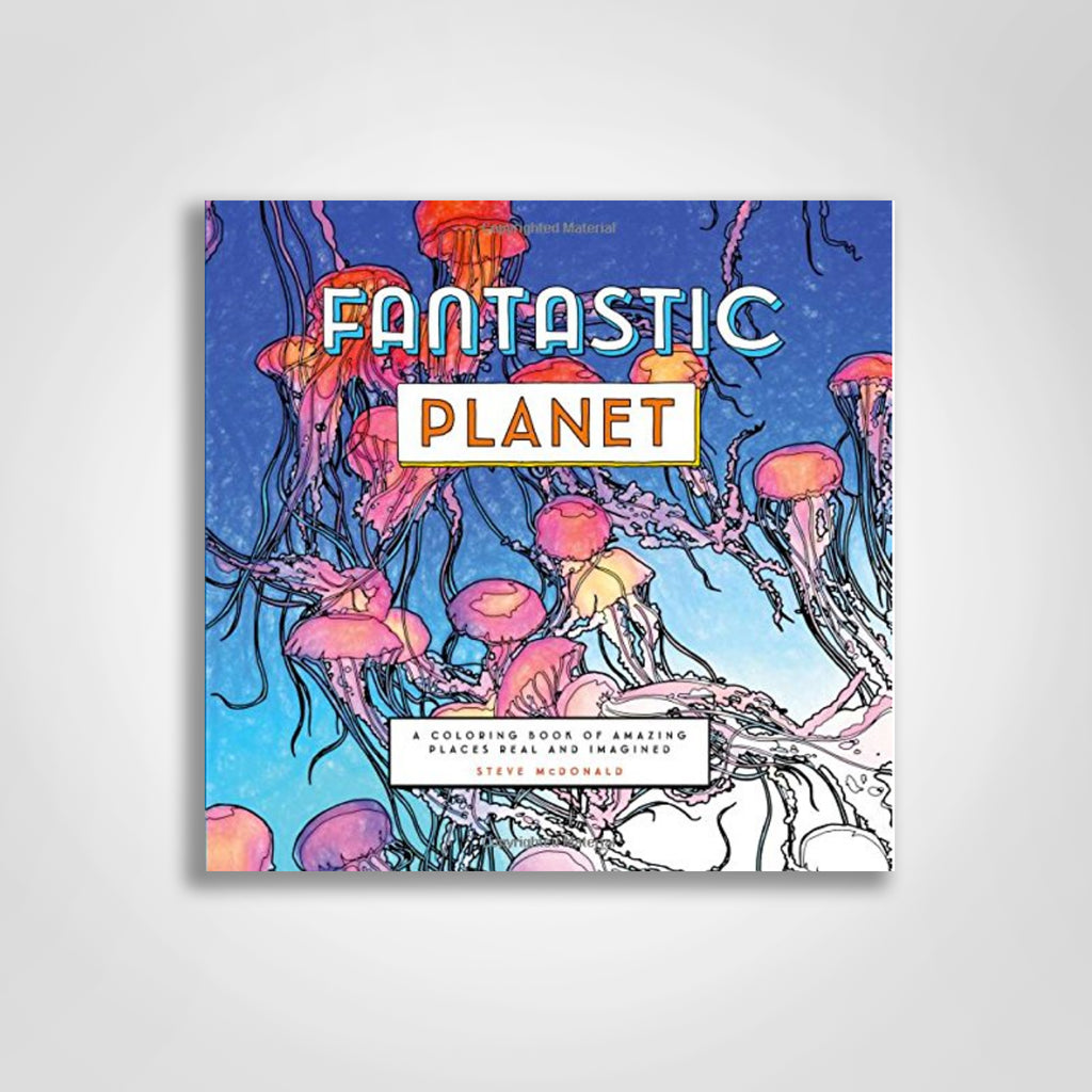 Fun-to-Color Book of Lush Jungles, Teeming Reefs, Deserts Landscapes ...