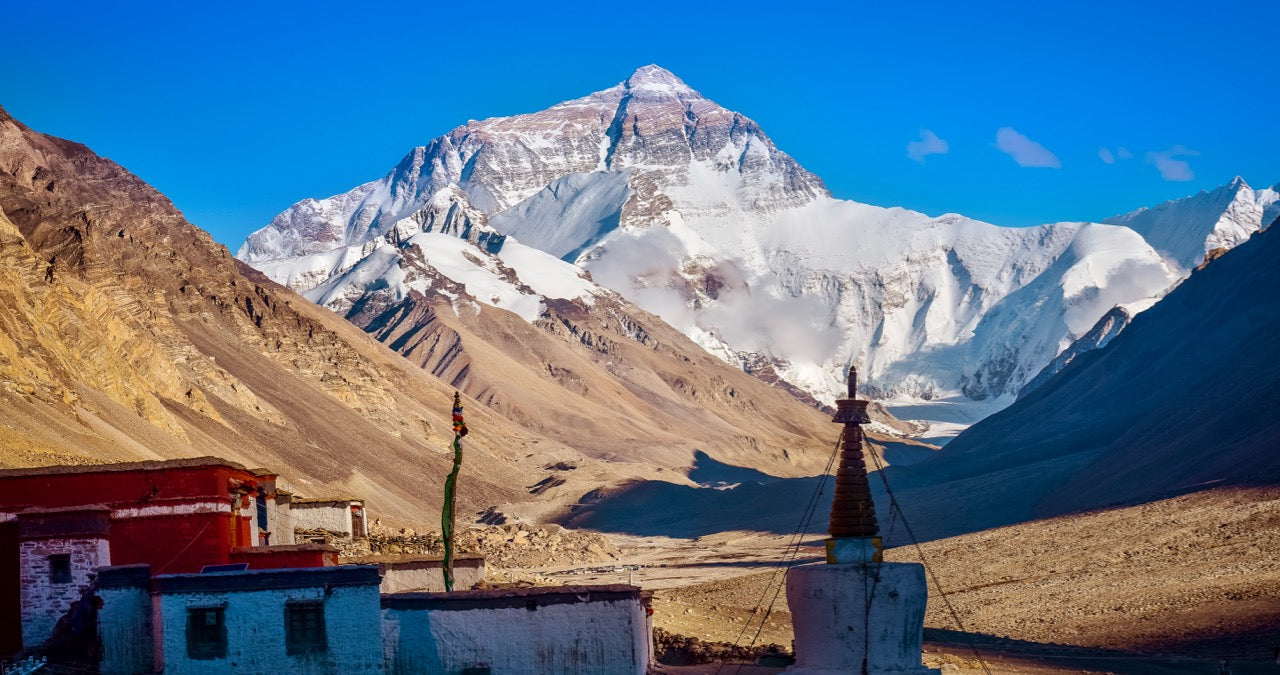 Rongbuk Monastery Everest