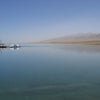 A calm day at Qinghai Lake