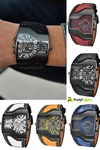 Classic Style Sports Watch