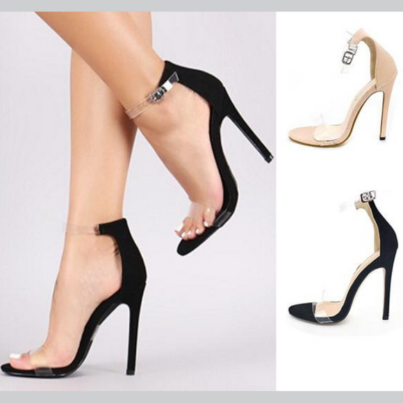 Peep Toe High Heel Sandals - Prolyf Styles Peep Toe High Heel Sandals, Shoes, Prolyf Styles, ProLyf Styles